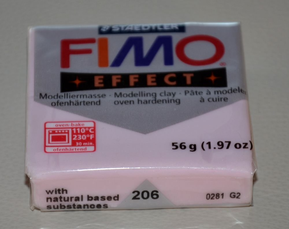 FIMO EFFECT QUARZO ROSA N. 206