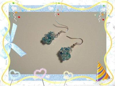 Orecchini Blu Princess