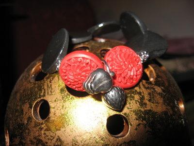Bracciale in cera lacca gioielli bracciali e for Rosso lacca cinese