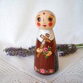 Santa Rita da Cascia cattolico cristiano bambola