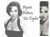 "Schema peyote per bracciale ""Liz Taylor"""