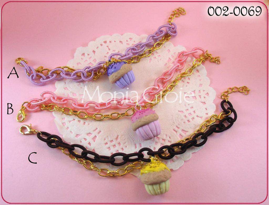 Bracciale cupcake