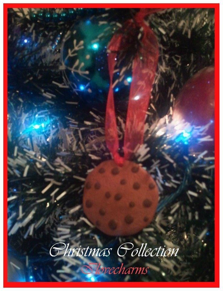Cookies decorazione per l'albero di natale
