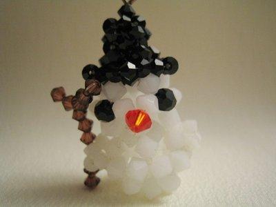 """""""Pupazzo di Neve"""" - Accessorio in cristallo Swarovski"""