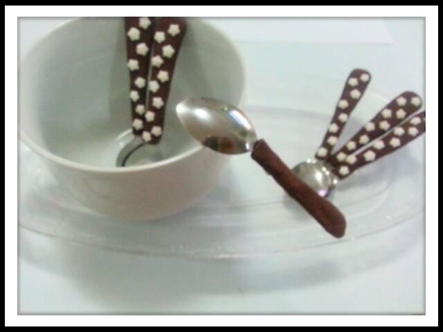 Cucchiaini pandistelle fimo