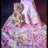 Trapunta patchwork bambina