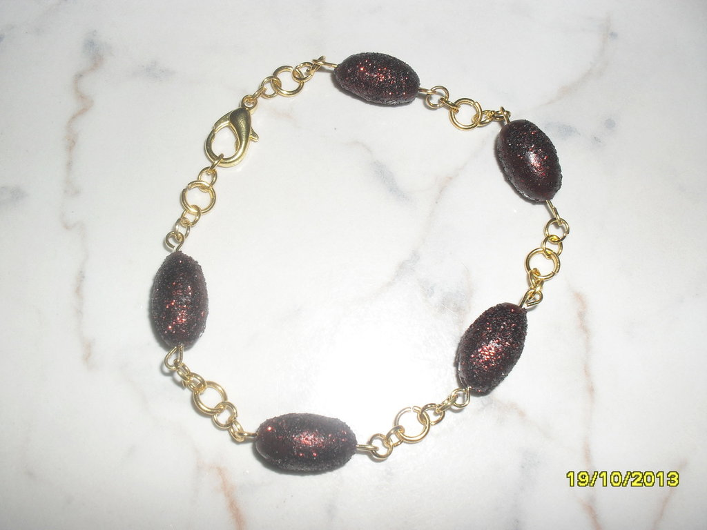 "bracciale ""brown"""