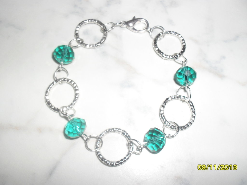 "bracciale ""blue eyes"""