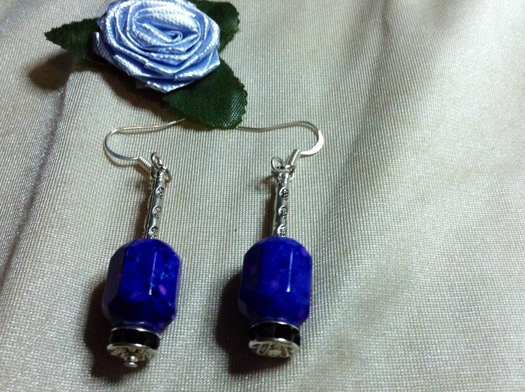 Orecchini blu