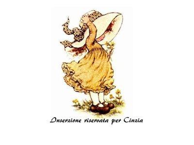 Inserzione riservata per Cinzia