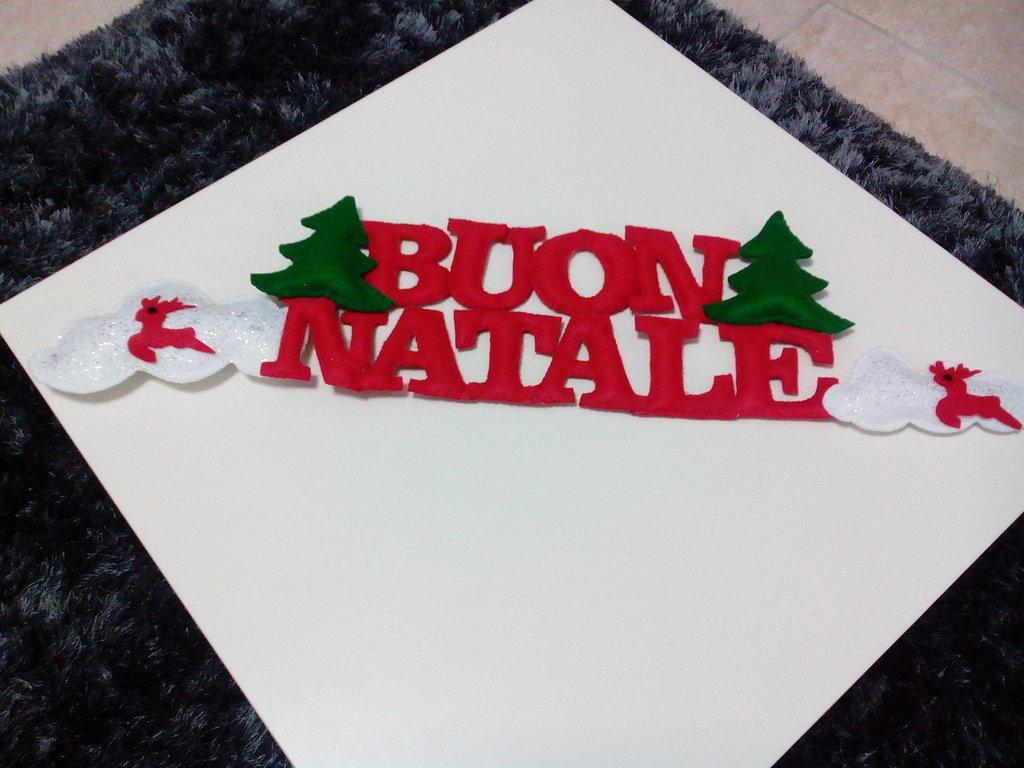 Striscione Natalizio