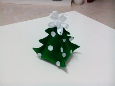 Albero natalizio decorativo