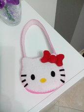Borsetta Bimba Hello Kitty pannolenci