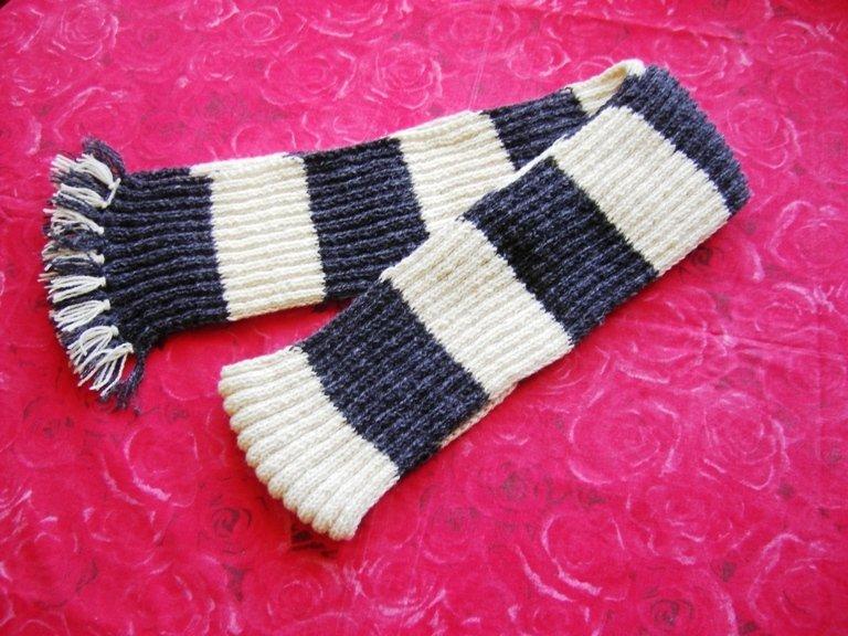 a scarf