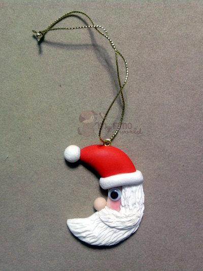 Decorazioni Natale Babbo fimo