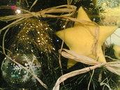 Decoro albero di Natale stella