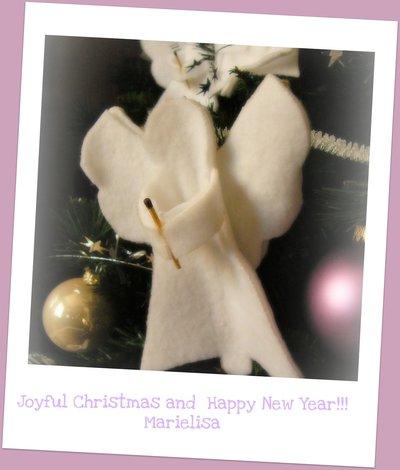 Decoro albero di Natale Angioletto