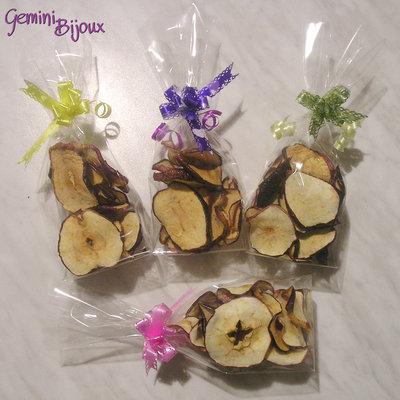 Fette di mela essiccate uso decorazioni 40 grammi