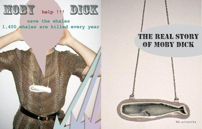 the real story of Moby Dick necklace