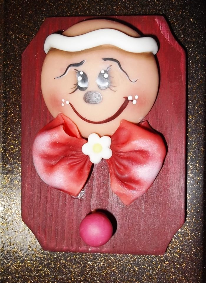 Piccolo quadro da appendere con gingerbread