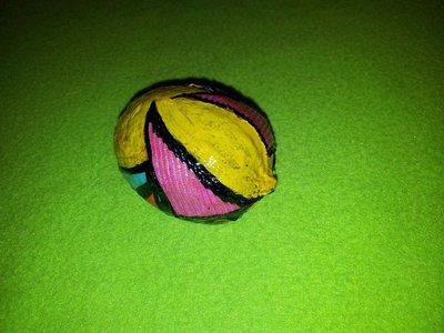 limone essiccato rivestito con stoffa   patchwork