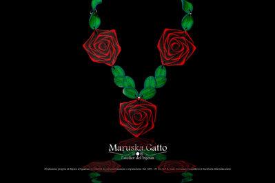 Collana rose rosse-004