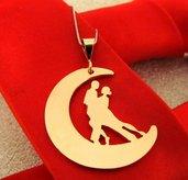 Collana tango Illusion Volcada oro rosa Adornos