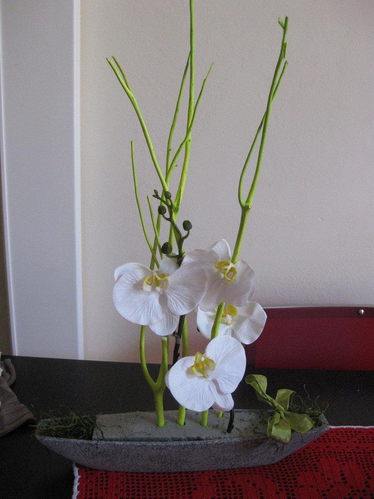 Vaso Con Ortensie Finte vaso con ortensie