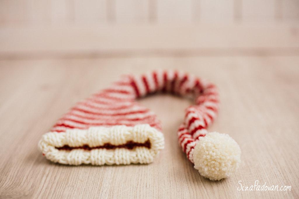 Capellino con ponpon - Idea Natale