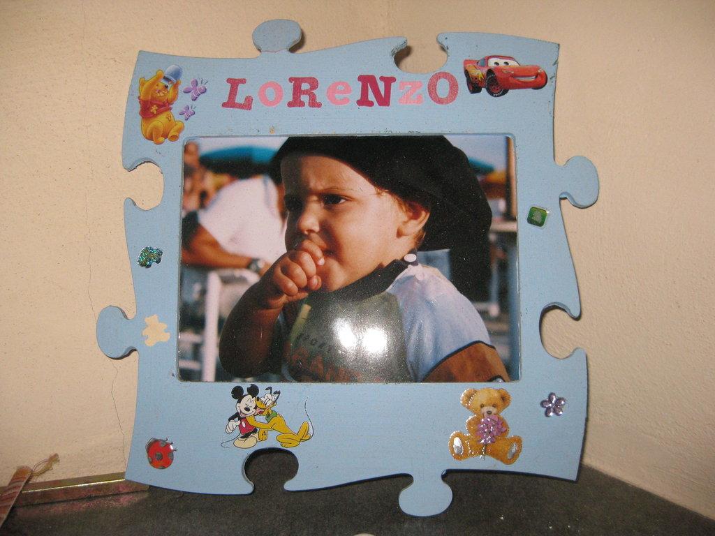 Portafoto puzzle