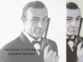 "Schema peyote per bracciale ""James Bond"""