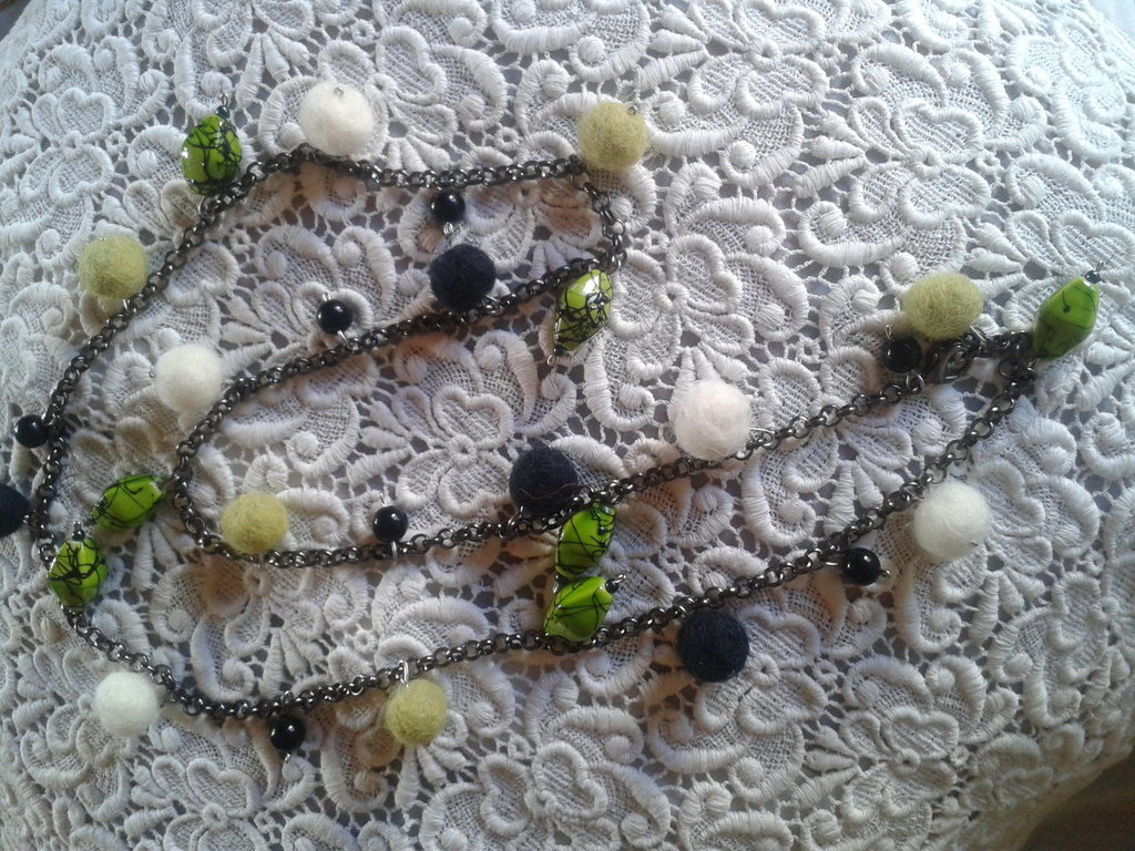 Collana lana