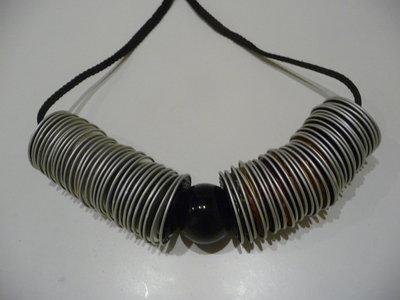Coffee necklace - Collana con cialde Nespresso