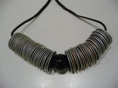 Coffee necklace - Collana con cialde Nespresso