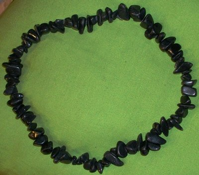 Collana pietre nere