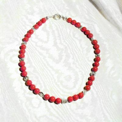 Collana Rosso d'Inverno