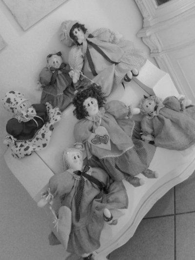 """bambole """"le  mie dive moderne"""""""