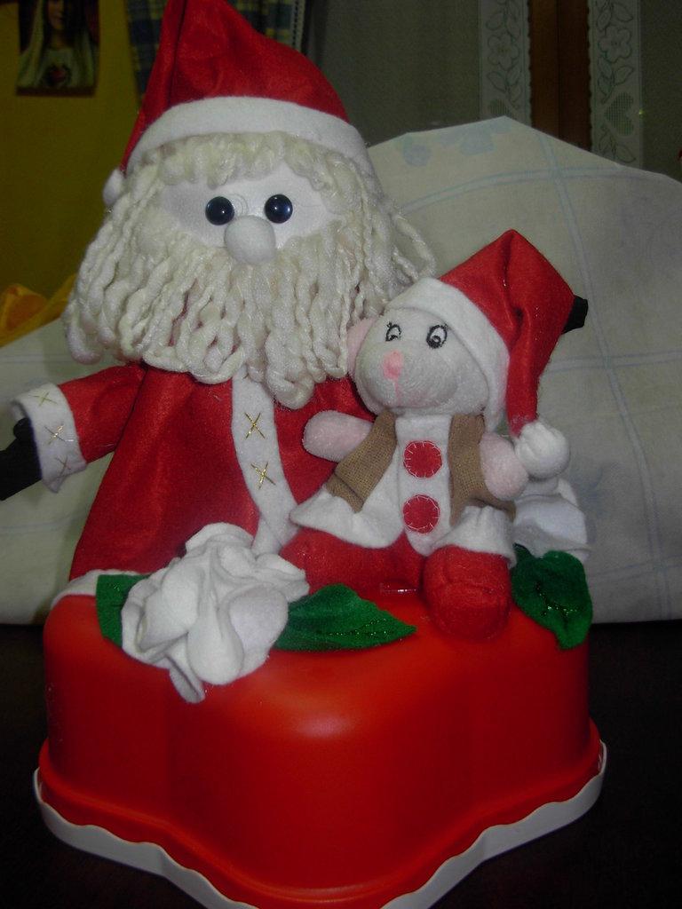 porta torta, contenitore per dolci Natalizio