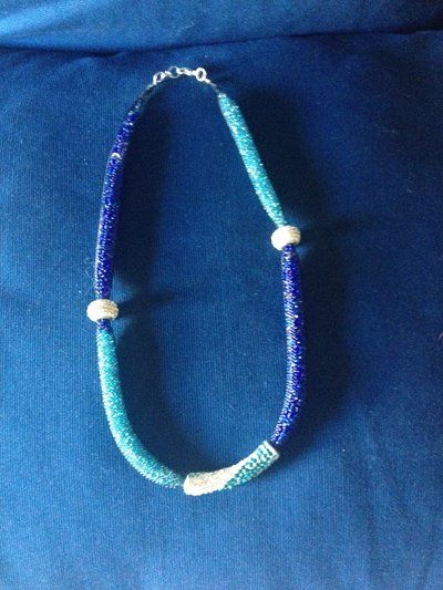collana blu net