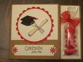 Biglietto congratulazioni laurea