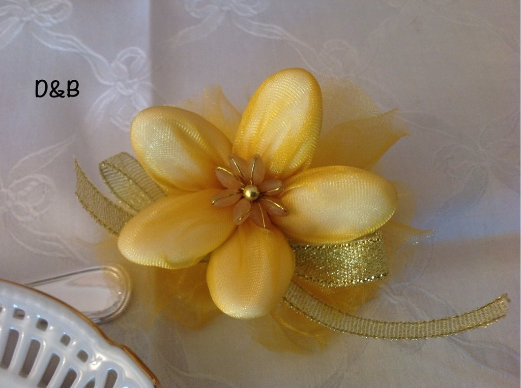 Favorito Fiore porta confetti per Nozze D'oro - Feste - Bomboniere - di Del  LX89