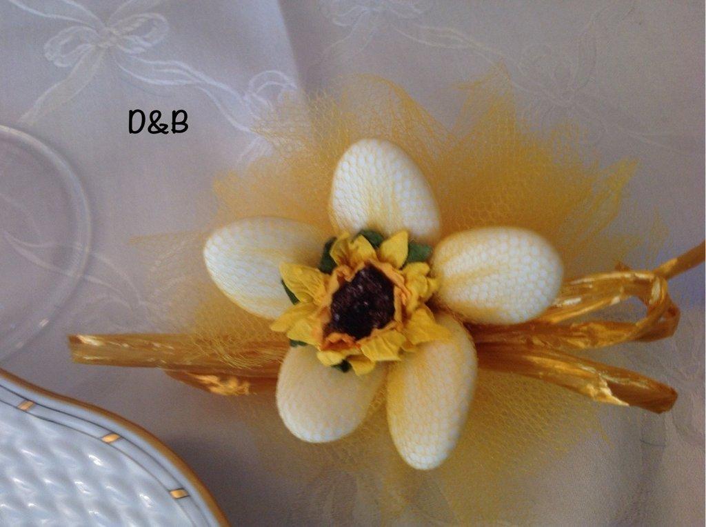 Fiore porta confetti per tutte le occasioni