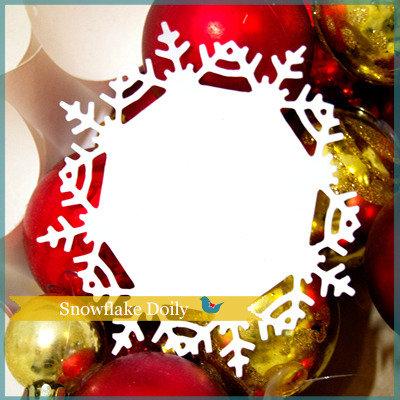 SALDI Sagome 'Centrini Natale'