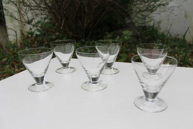 Bicchieri da liquore vintage