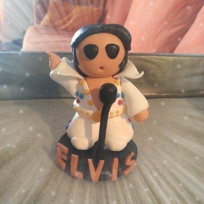 Elvis riproduzione in Fimo