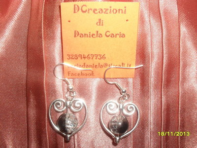 "orecchini ""double face"""