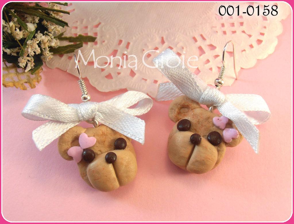 Orecchini orsetti