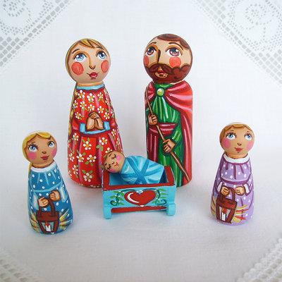Natale natività presepe Sacra Famiglia Tre Re Magi