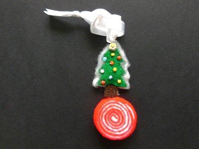Decorazione natalizia in feltro