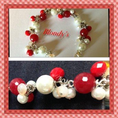 Braccialetto perle&swarovski
